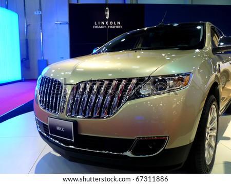 Abu Dhabi Uae December 10 Lincoln Mkx Stock Photo Edit Now