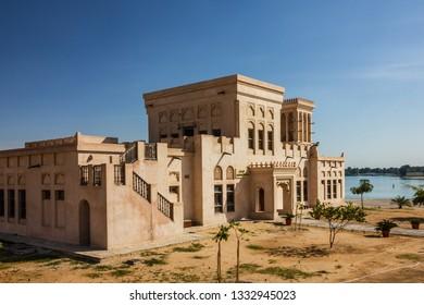 Abu Dhabi, UAE - March 9, 2019: Sheikh Zayed national museum.