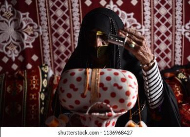 Abu Dhabi, Abu Dhabi/ UAE - Nov 17 2017 Emarati Women