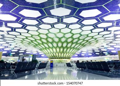 Abu Dhabi, UAE - NOVEMBER 26: Abu Dhabi International Airport on November 26, 2012.