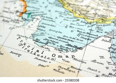 Abu Dhabi, UAE United Arab Emirates, the way we looked at it in 1949