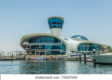 Abu Dhabi, United Arab Emirates, May 20, 2017: Cipriani Restaurant on Yas Island