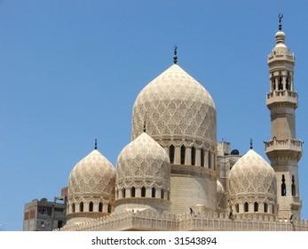Abu El-Abbas El-Morsi Mosque, Alexandria, Egypt