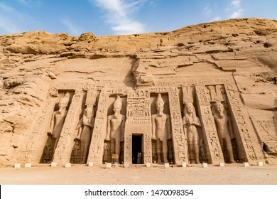 Abu Simbel temple, amazing temple built by Ramesses (Ramses II) the Great, Egypt