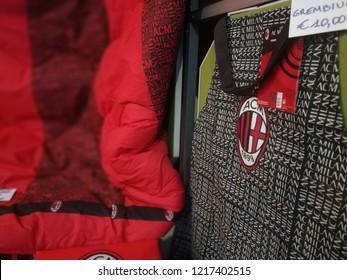 Ac Milan Merchandising Sale Shop Window Stock Photo (Edit Now ...