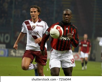 AC Milan soccer - football player Calrence Seedorf