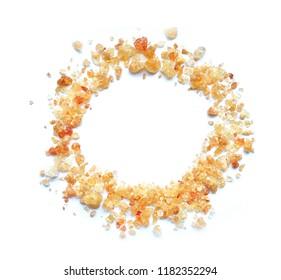 Acacia gum circle - gum arabic