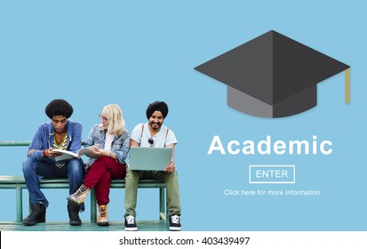 Academic Education Graduate Information Concept