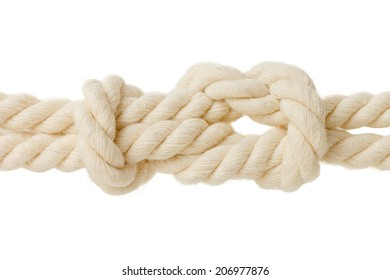 academic knot. isolated on white background