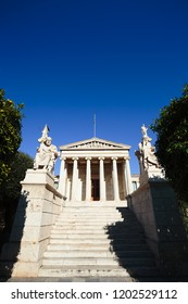 The Academy of Athens  is Greece's national academy, and the highest research establishment in the country.