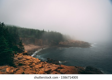 Acadia National Park and Cadillac Mountain in the state of Maine