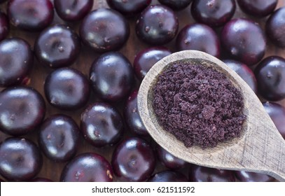 Acai powder - Euterpe oleracea