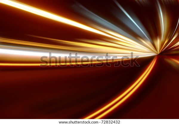 acceleration of the motion on the night road