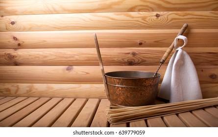 Accessories for  bath and sauna
