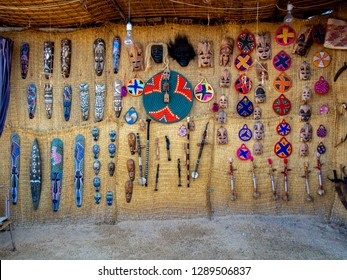 Accessories and Gifts from the Nubia are sold to tourists, Aswan, southern Egypt