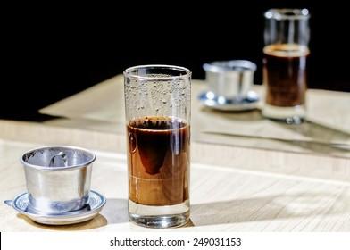 Accessories to prepare excellent vietnamese coffee