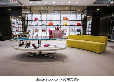 accessories store interior