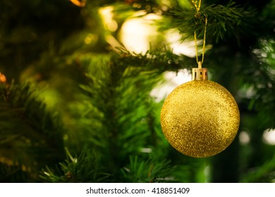 an accessory for decoration on  christmas tree