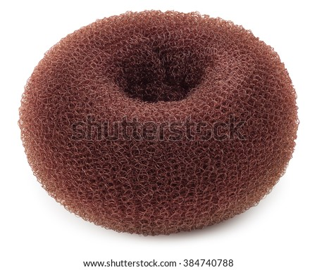 Accessory Hairstyle Donut Bun Maker Isolated Stock Photo Edit Now