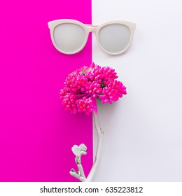 Accessory Sunglasses Minimal Art Design