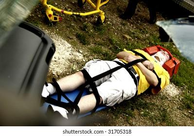 Accident victim