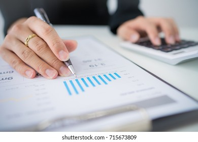 Accounting Calculating Mathematic Economic Finance Working Concept