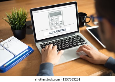 ACCOUNTING CONCEPT ON SCREEN
