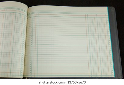 Accounting Ledger Pages Vintage