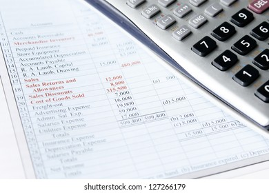 accounting with scientific calculator