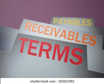 Accounts payment terms