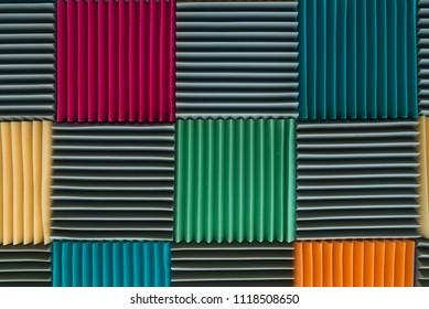 Accoustic Sponge Colorful Background