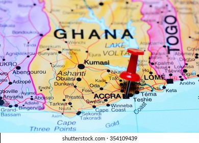 Map Of Africa Showing Ghana.Ghana Map Images Stock Photos Vectors Shutterstock