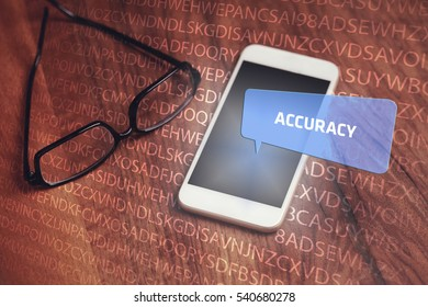 Accuracy, Business Concept