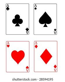ace - poker cards