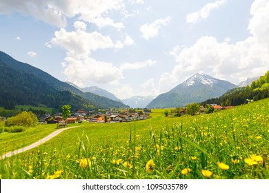 Achenkirch on a sunny spring day