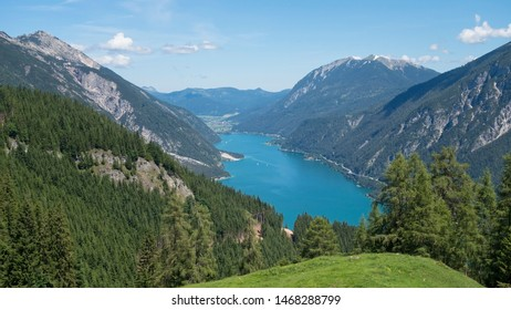 Achensee, Austria in it's beauty surrounded with mountains