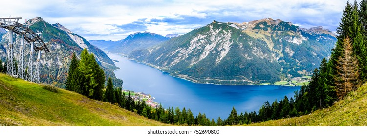 achensee lake in austria - panorama