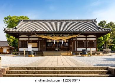 Achi Shrine in Kurashiki, Okayama, Japan