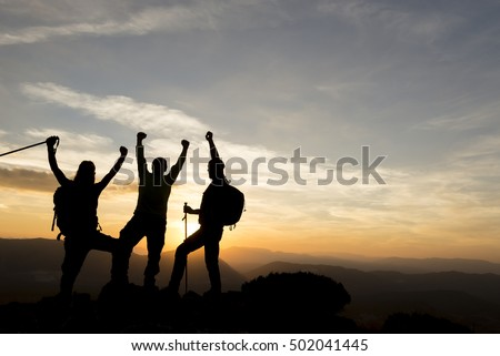 achieve together success ambitious climbers stock photo edit now