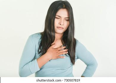 Acid reflux in old women