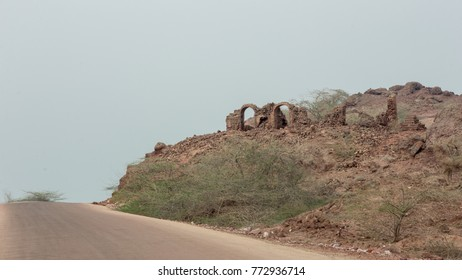 Acient ruins of the persian castel