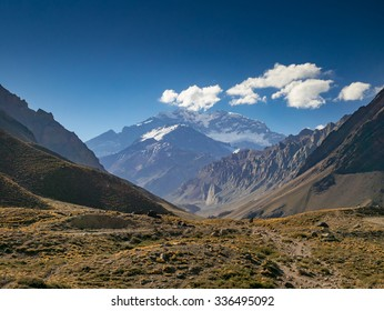 Aconcagua in the Evenging