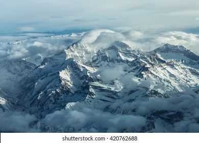 Aconcagua The highest mountain of the Andes is the Aconcagua with 22837 feet or 6961 meters altitude