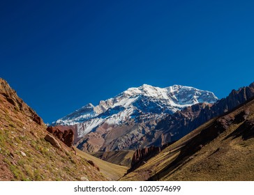 Aconcagua Mountain, Horcones Valley, Aconcagua Provincial Park, Central Andes, Mendoza Province, Argentina