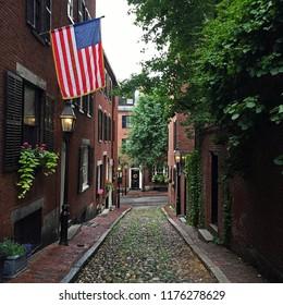 Acorn Street, Boston, Massachusetts