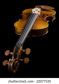 Acoustic Classical Violin perspective view