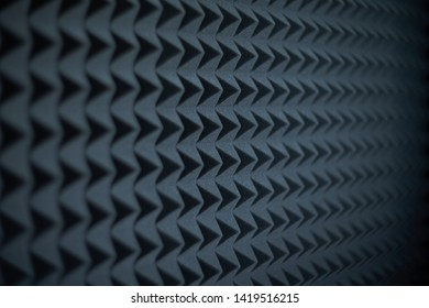 Acoustic foam panel background, shallow depth of field