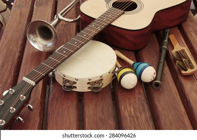 Acoustic guitar and other instruments