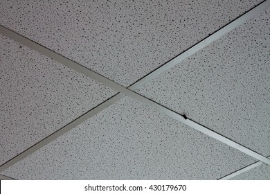 Acoustic Sound Absorber gypsum board T-BAR ceiling