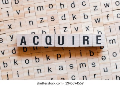 Acquire word concept